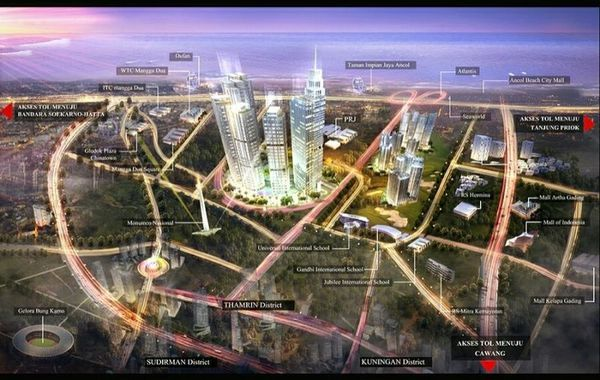 2019 精明投資印尼房地產! 印尼雅加達房地產投資指標建案 分析總整理 @東南亞投資報告