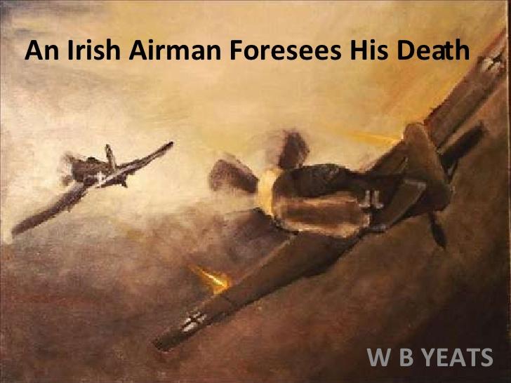 電影中的葉慈Yeats情詩—一個愛爾蘭飛行員預見死亡:剛果Congo,英烈的歲月Memphis Bella @東南亞投資報告
