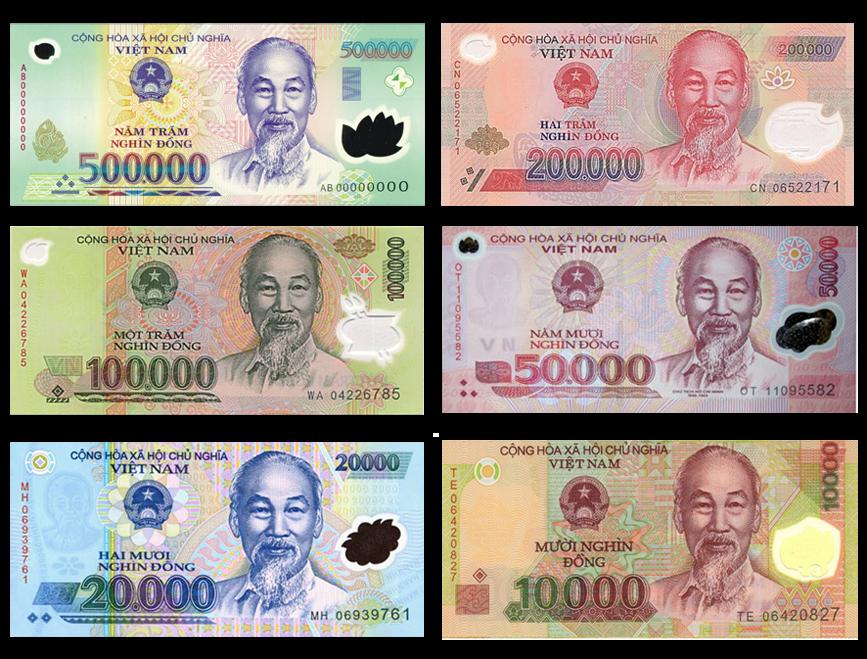 越南盾 紙鈔 @東南亞投資報告