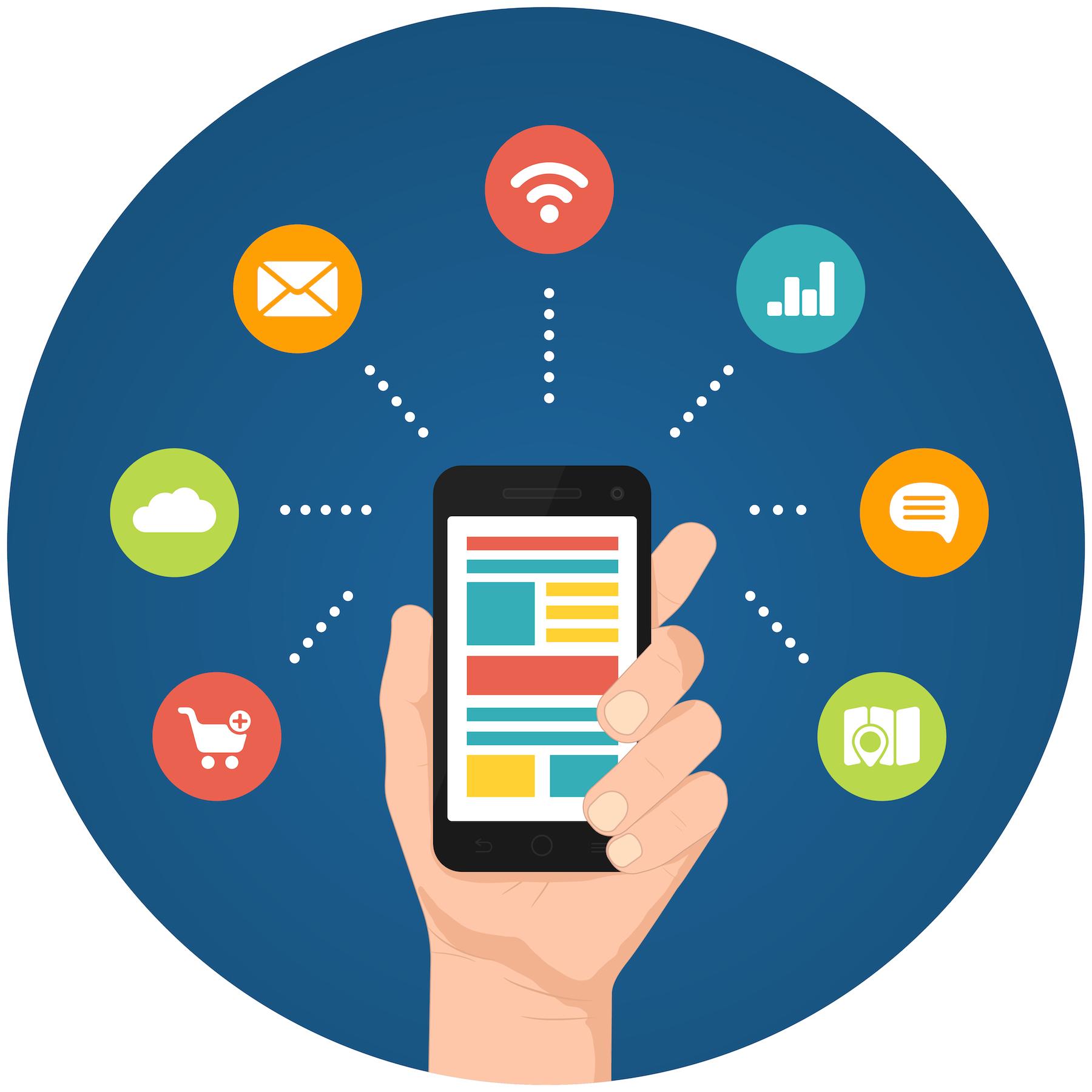 Smartphone apps infographics @東南亞投資報告