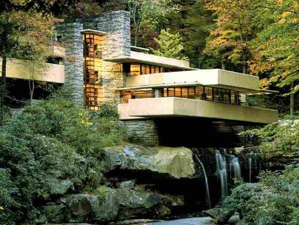 電影中的建築-萊特Frank Lloyd Wright :古根漢博物館,恩尼斯之家,馬林郡市政府 @東南亞投資報告